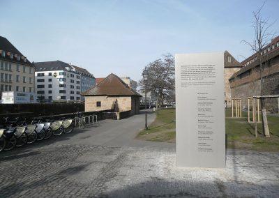 NSU Geschichtspfad Nürnberg