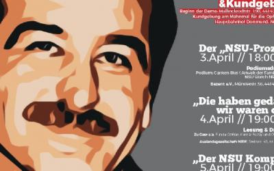 3.-5. April: Tag der Solidarität – Demo und Veranstaltung in Dortmund