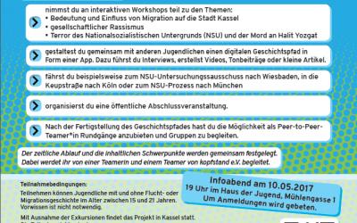 Aufruf: Jetzt anmelden zum Projekt History Reclaimed in Kassel!